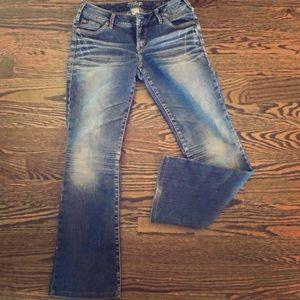 EUC AIKO SILVER Jeans